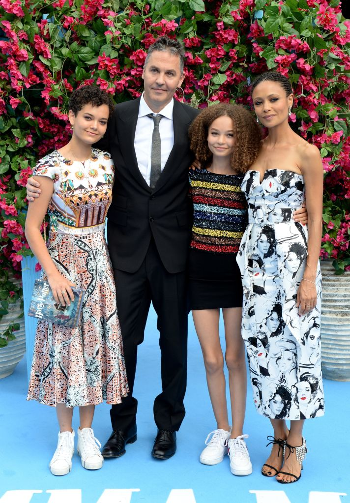 Thandie Newton and her husband Andy García make the 'Mamma Mia! Here We Go Again' premiere a family affair with their adorable children.