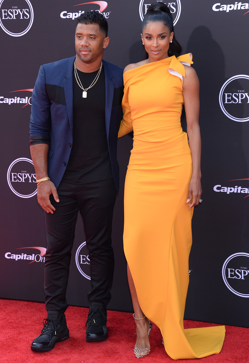 Russell Wilson and Ciara ESPY Awards