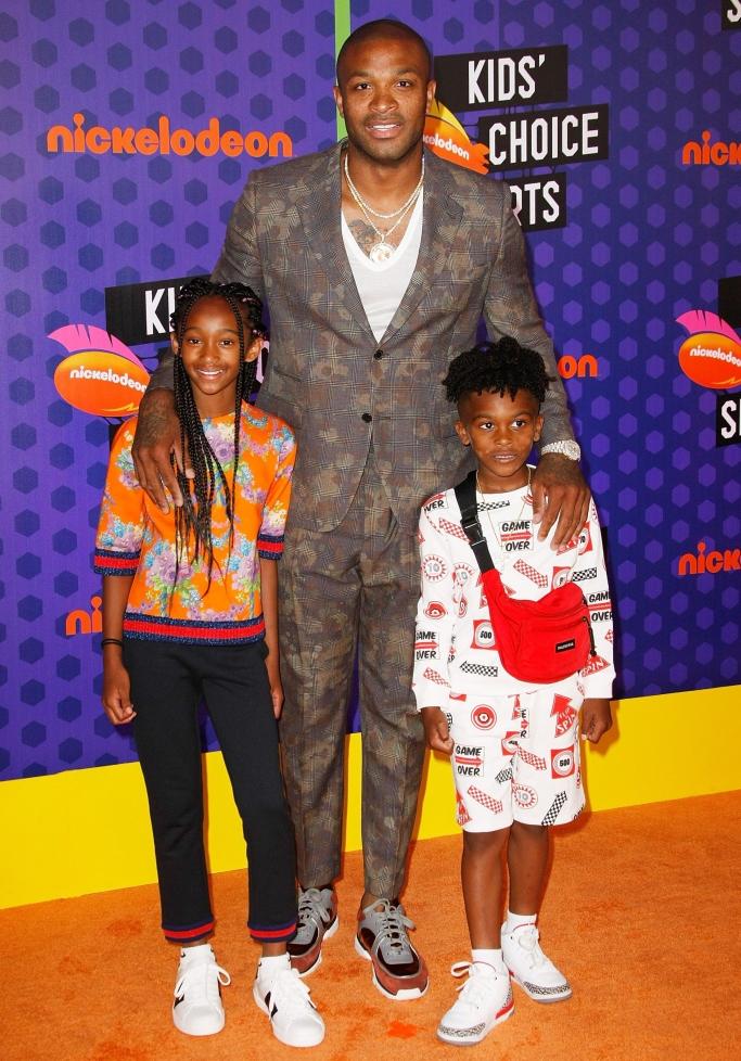 P. J. Tucker, King Tucker, Aaliyah Tucker, kids' choice sports awards