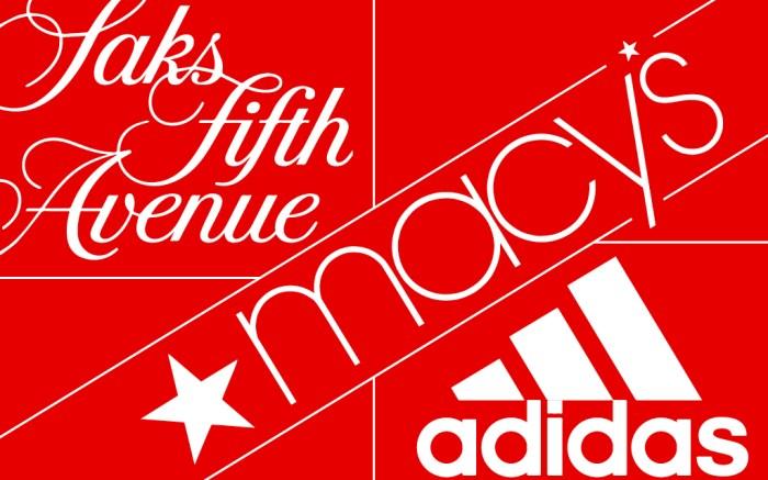 Saks Fifth Avenue Macys Adidas
