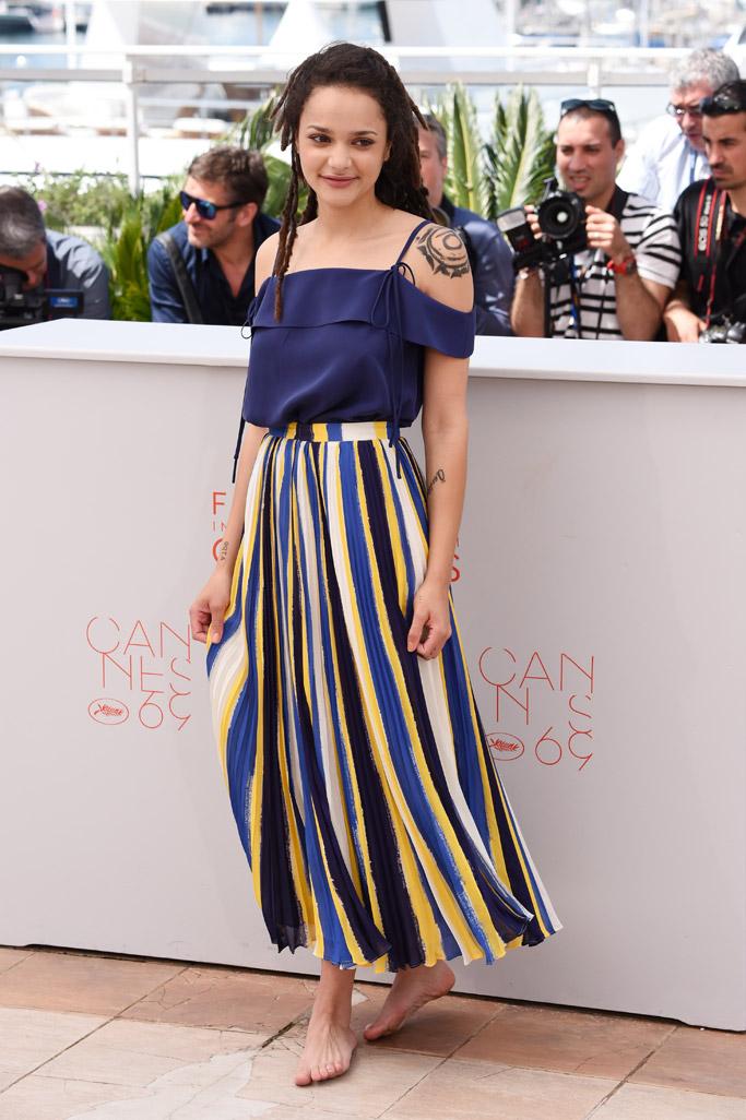 Sasha Lane at Cannes Film Festival 2016
