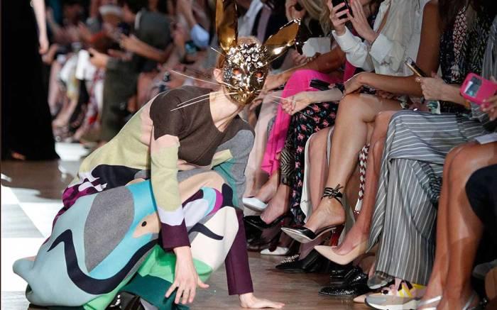 Schiaparelli haute couture fall '18.