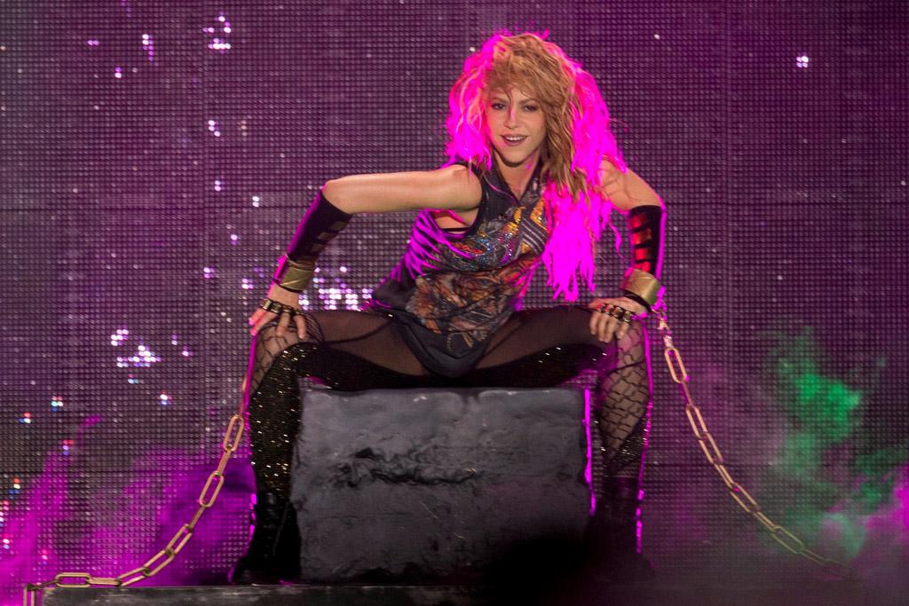 Shakira el dorado tour, concert, tights