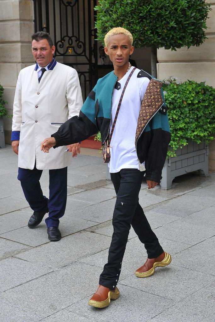 jaden smith, louis vuitton, paris street style