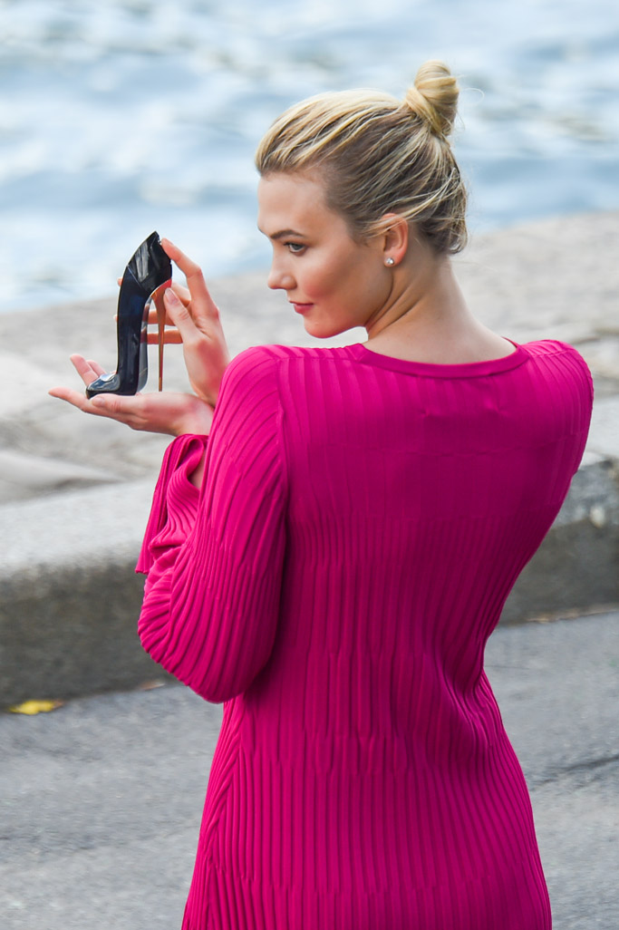 Karlie Kloss, carolina herrera perfume good girl