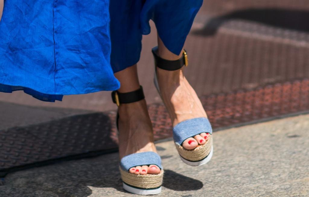 heidi klum shoes, heidi klum street style