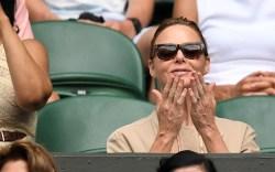 Celebrities at Wimbledon 2018