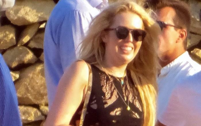 Tiffany Trump sighted at vacation in black bikini on Mykonos Island, GreecePictured: Tiffany TrumpRef: SPL5013390 310718 NON-EXCLUSIVEPicture by: SplashNews.comSplash News and PicturesLos Angeles: 310-821-2666New York: 212-619-2666London: 0207 644 7656Milan: +39 02 4399 8577Sydney: +61 02 9240 7700photodesk@splashnews.comWorld Rights, No Greece Rights