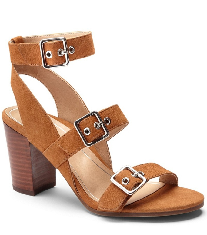 Vionic with Orthaheel Technology Carmel Ankle-Strap Sandal