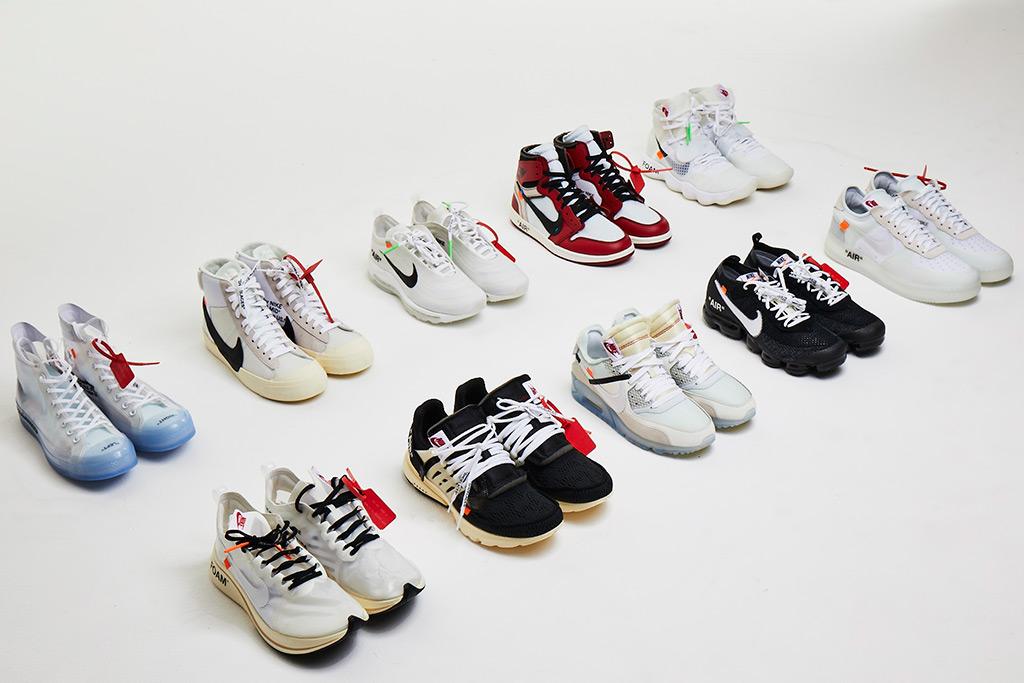 Virgil Abloh x Nike 'The Ten' Sneakers