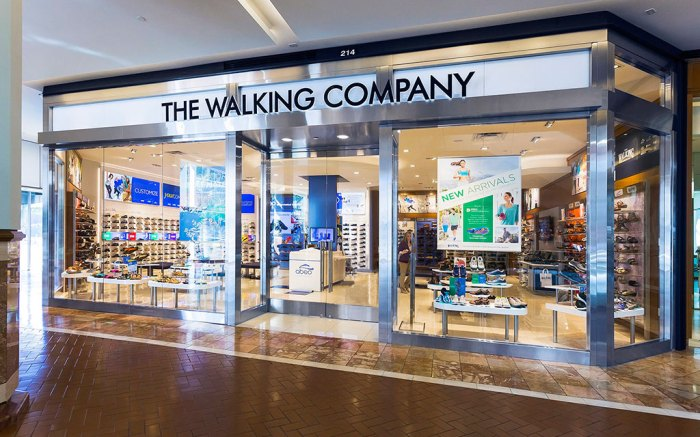 Walking company store