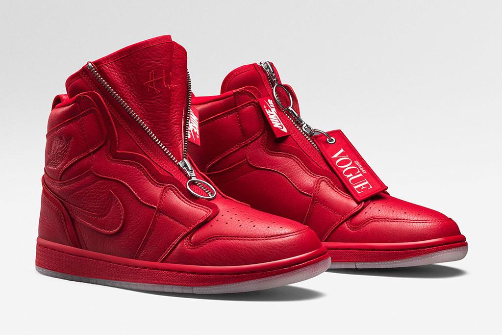 Vogue Air Jordan 1 Red