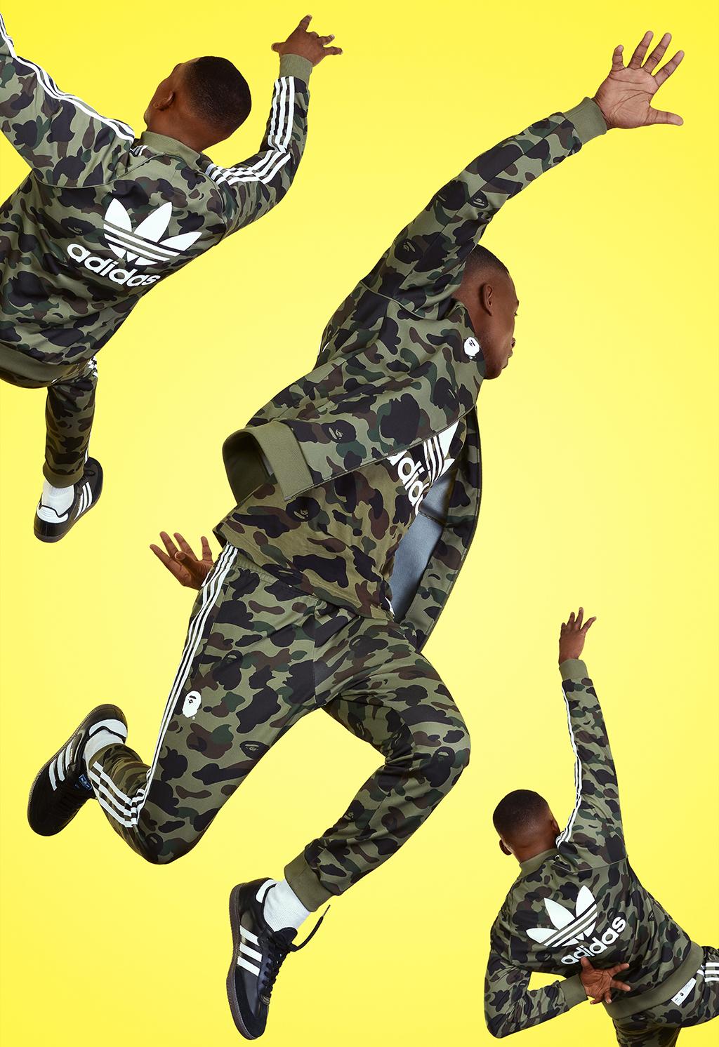 Bape x Adidas Originals Apparel