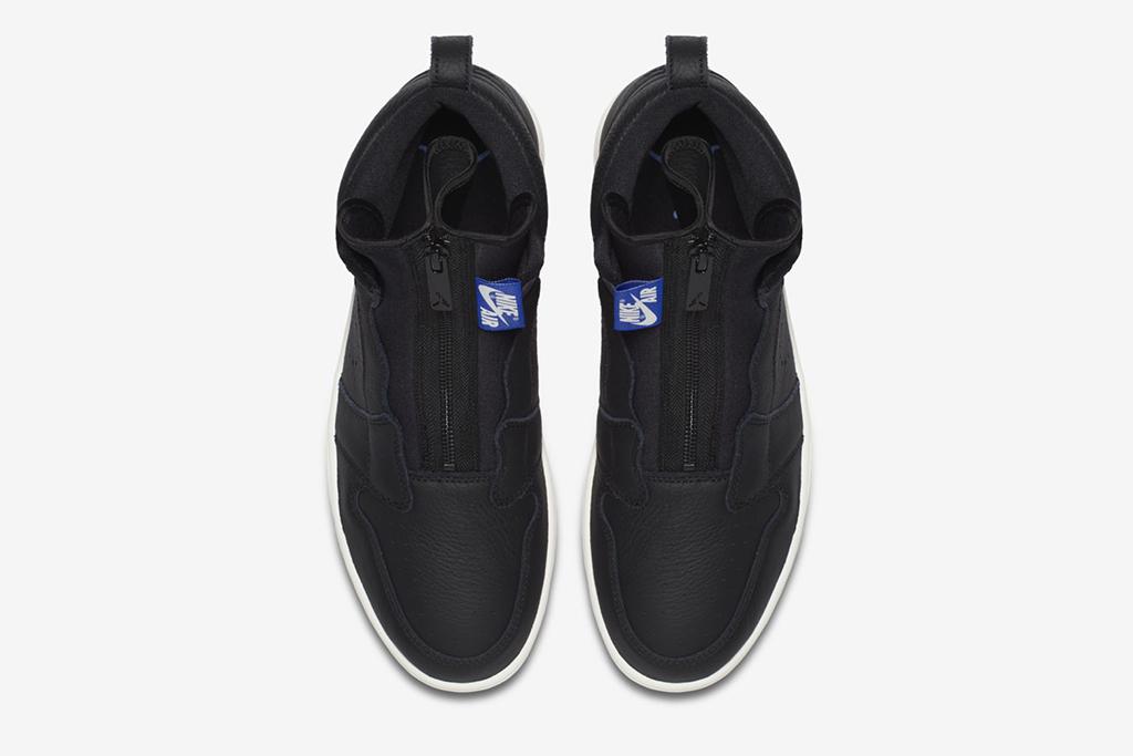 Air Jordan 1 High Zip black royal