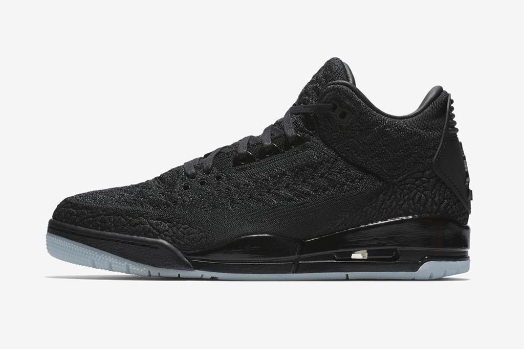 Air Jordan 3 Flyknit Black