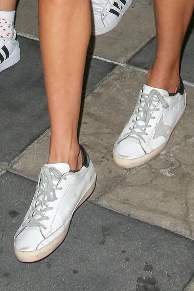 Alessandra Ambrosio, sneakers, Golden Goose