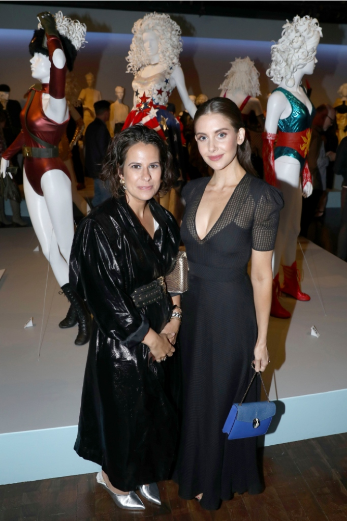 alison brie, beth morgan, 12th annual Art of Television Costume Design opening