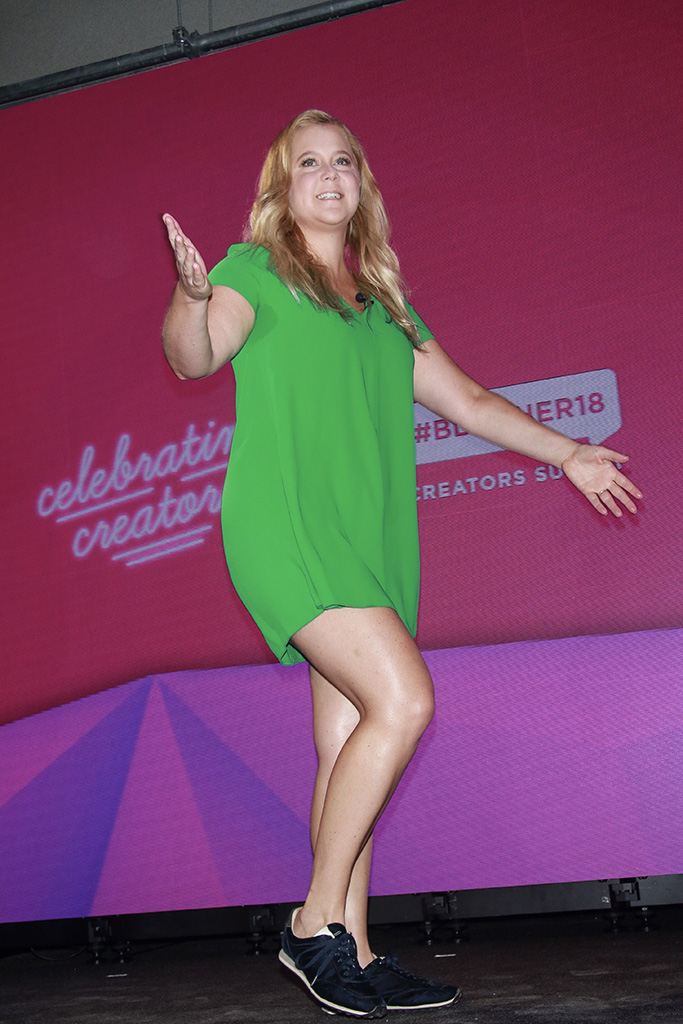 Amy Schumer BlogHer18 Creators Summit, Day 1, New York, USA - 08 Aug 2018