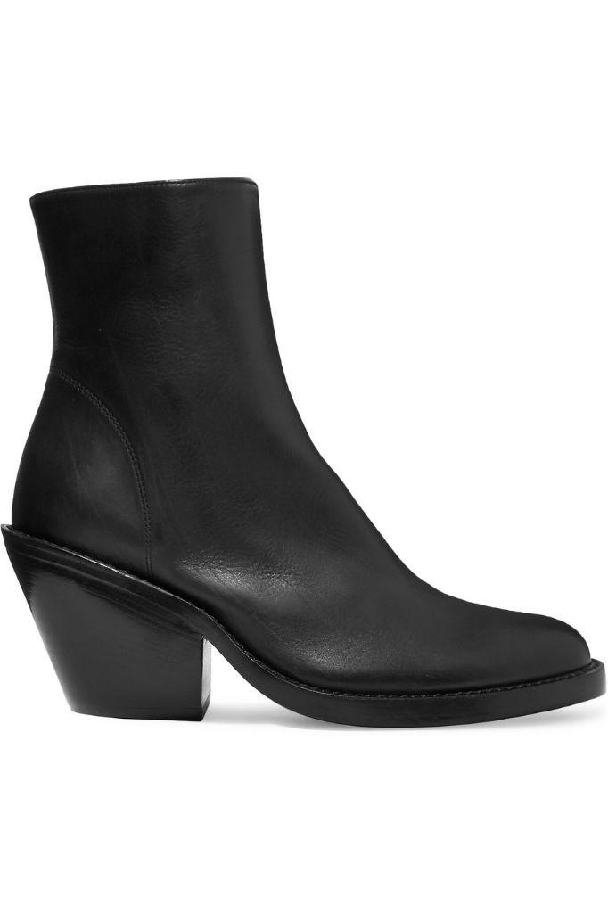 ann demuelemeester western ankle boots fall 2018