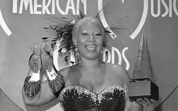 AMA Aretha Franklin 1983, Los Angeles, USA