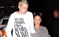 Ariana Grande and her fiancee Pete
