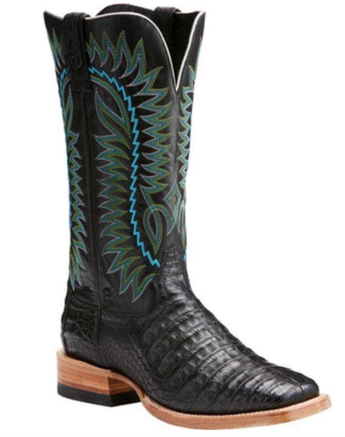 Ariat Relentless Gold Buckle Cowboy Boot