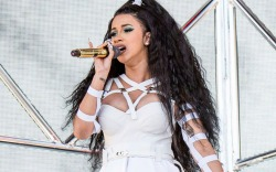 Cardi B performs at the Coachella