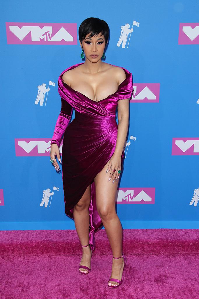 Cardi BMTV Video Music Awards, Arrivals, New York, USA - 20 Aug 2018