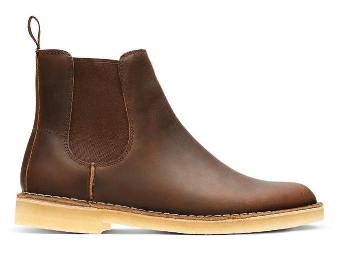 Clarks Desert Peak boots.