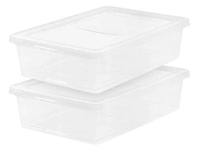 IRIS 28 Quart Clear Storage Bin