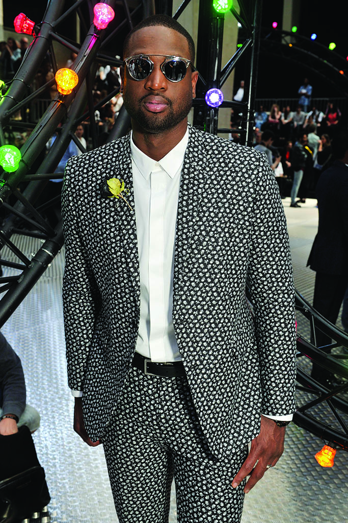 Dwyane Wade in the front rowDior Homme show, Paris Men's Fashion Week, Spring Summer 2017, France - 25 Jun 2016SUNGLASSES BY DIOR