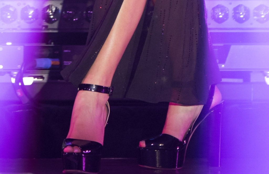 Giuseppe Zanotti Betty platforms, rita ora feet