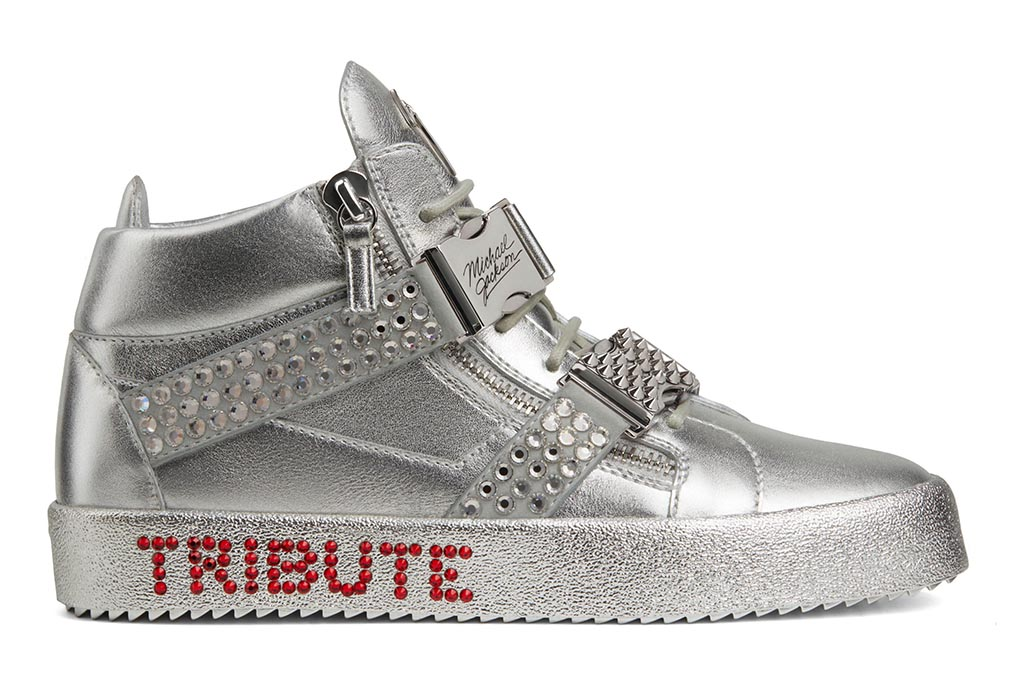Michael Jackson Giuseppe Zanotti Sneakers