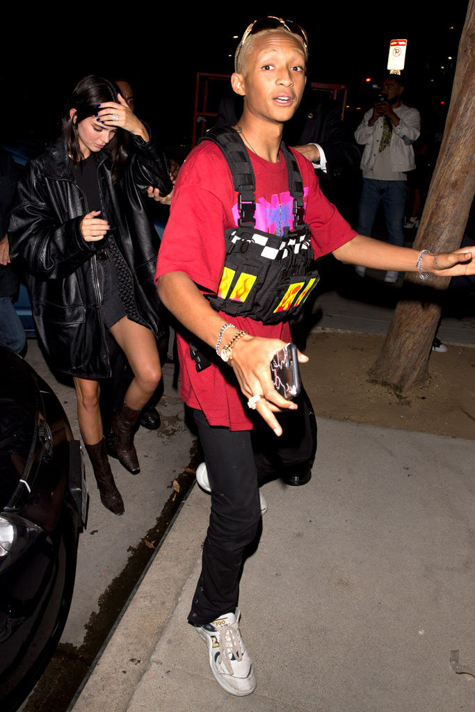 Jaden Smith, Kendall Jenner, New Balance sneakers