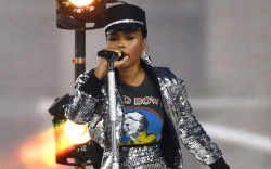 Janelle Monae Performs in a Silver