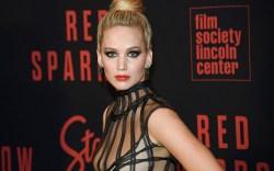 Jennifer Lawrence attends the premiere of