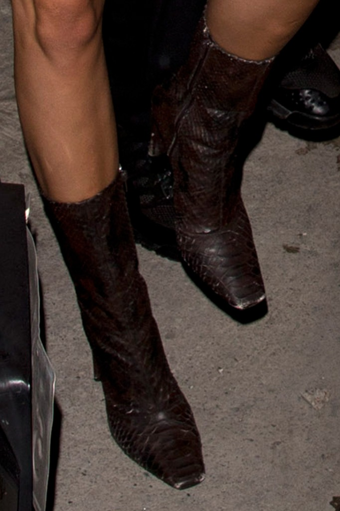Kendall Jenner, boots