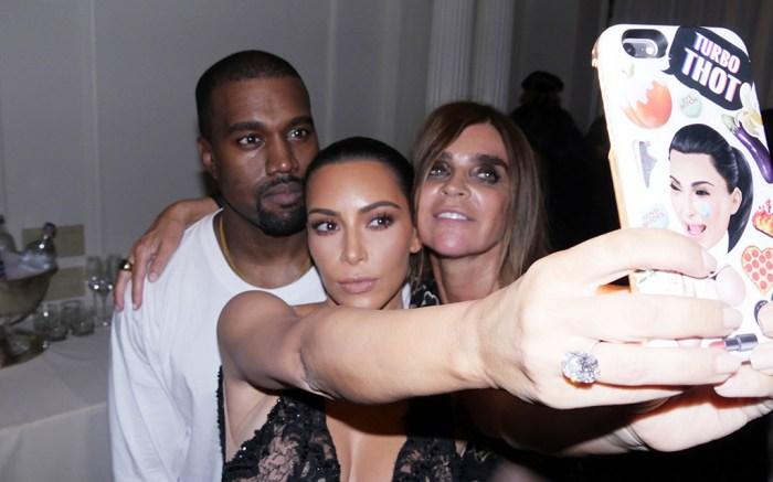 Kim Kardashian, Carine Restoin-Roitfeld and Kanye WestHarper's Bazar Icons party, Spring Summer 2017, New York Fashion Week, USA - 09 Sep 2016