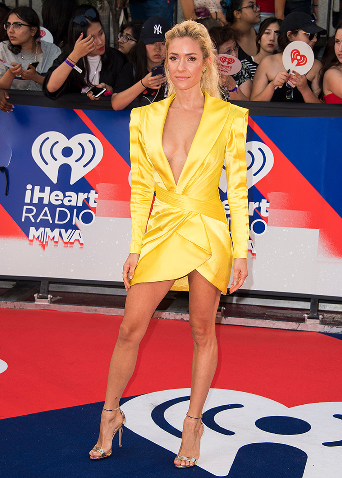 Kristin Cavallari arrives at the 2018 iHeartRadio MuchMusic Video Awards, in Toronto, Canada2018 iHeartRadio Much Music Video Awards - Arrivals, Toronto, USA - 26 Aug 2018
