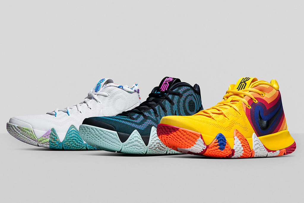 Nike Kyrie 4 'Decades Pack' Features