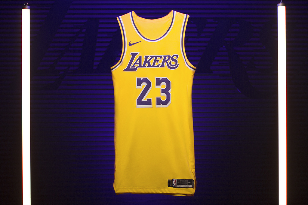 New LeBron Lakers Jersey