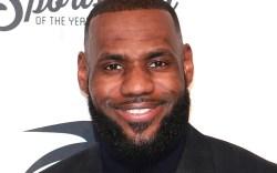 LeBron JamesSports Illustrated Sportsperson Of The