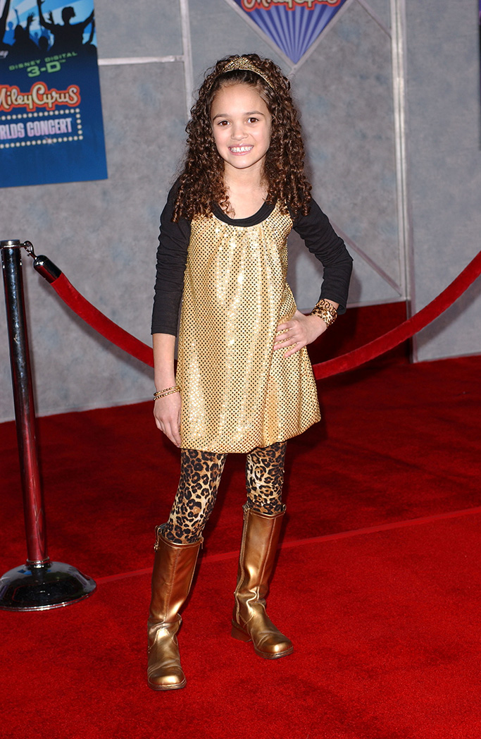 Madison Pettis 'Hannah Montana / Miley Cyrus: Best of Both Worlds Concert Tour' Film Premiere, Hollywood, America - 17 Jan 2008