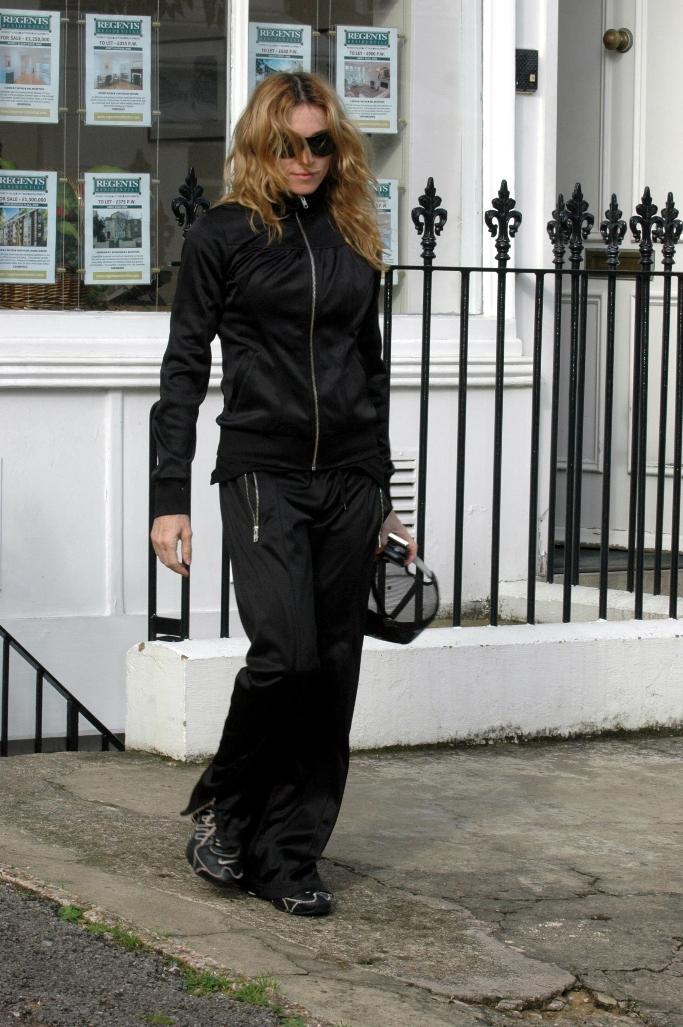 madonna, track suit