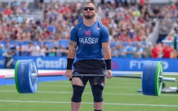 CrossFit Games Winner Mat Fraser Gets