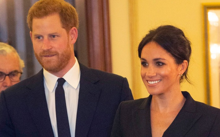 Prince Harry, Meghan Duchess of Sussex'Hamilton' Gala performance, Victoria Palace Theatre, London, UK - 29 Aug 2018The evening will raise awareness and funds for Sentebale's work with children and young people affected by HIV in southern Africa.