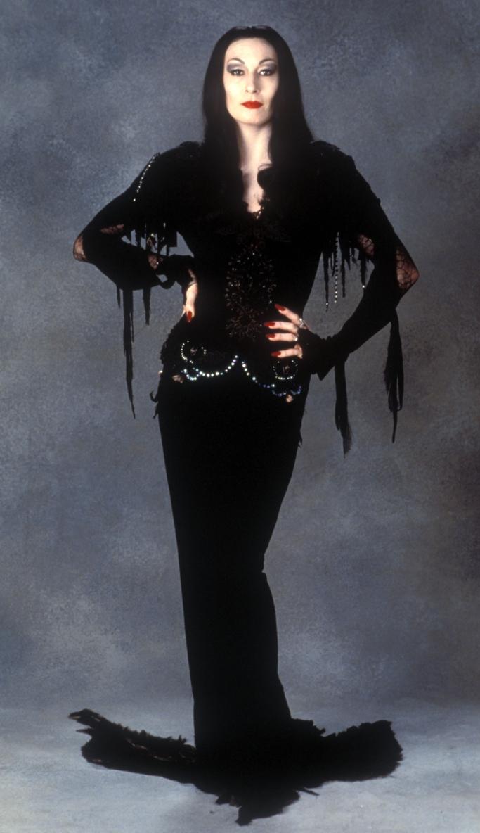 Morticia addams, Anjelica Huston, the addams family, 1991