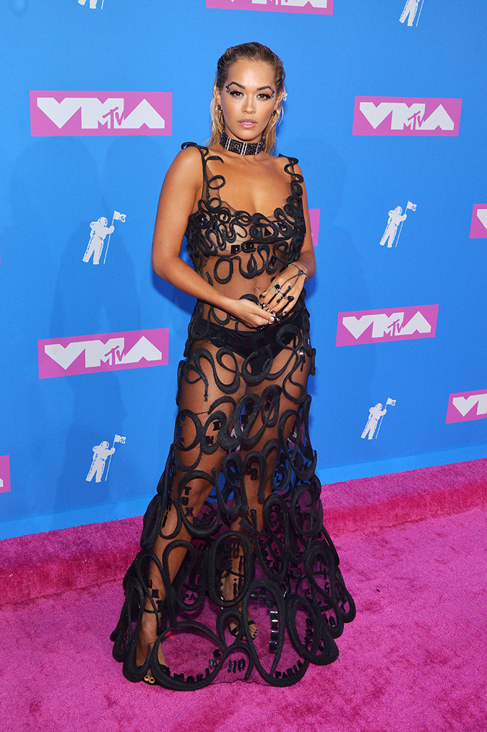 Rita Ora, MTV Video Music Awards, Arrivals, New York, USA - 20 Aug 2018