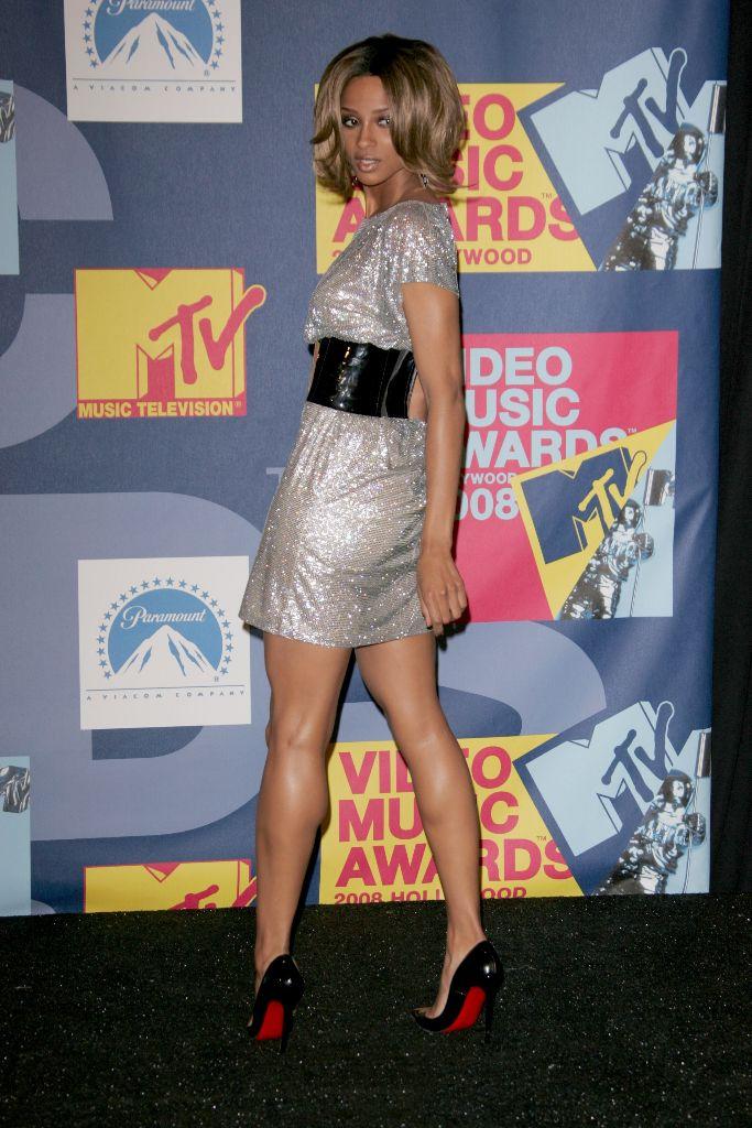 ciara, christian louboutin, red carpet, 2008 mtv video music awards