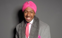Nick Cannon in the front rowVictoria's